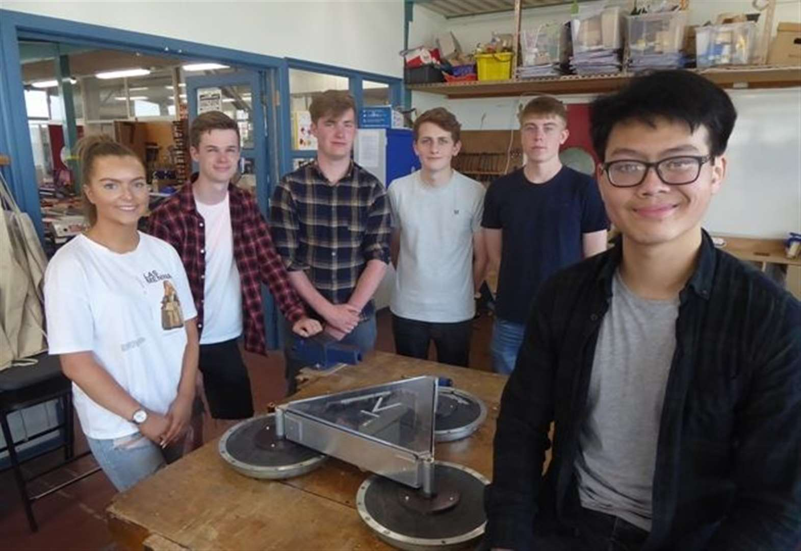 Green-energy prototype up for science prize