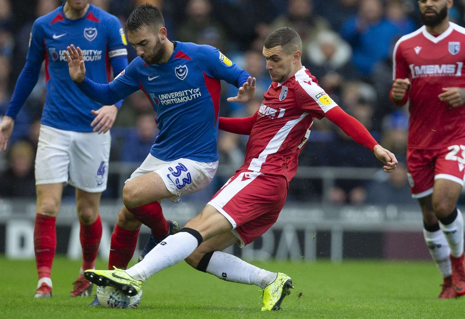 Size isn't everything says Gills' all-action midfielder