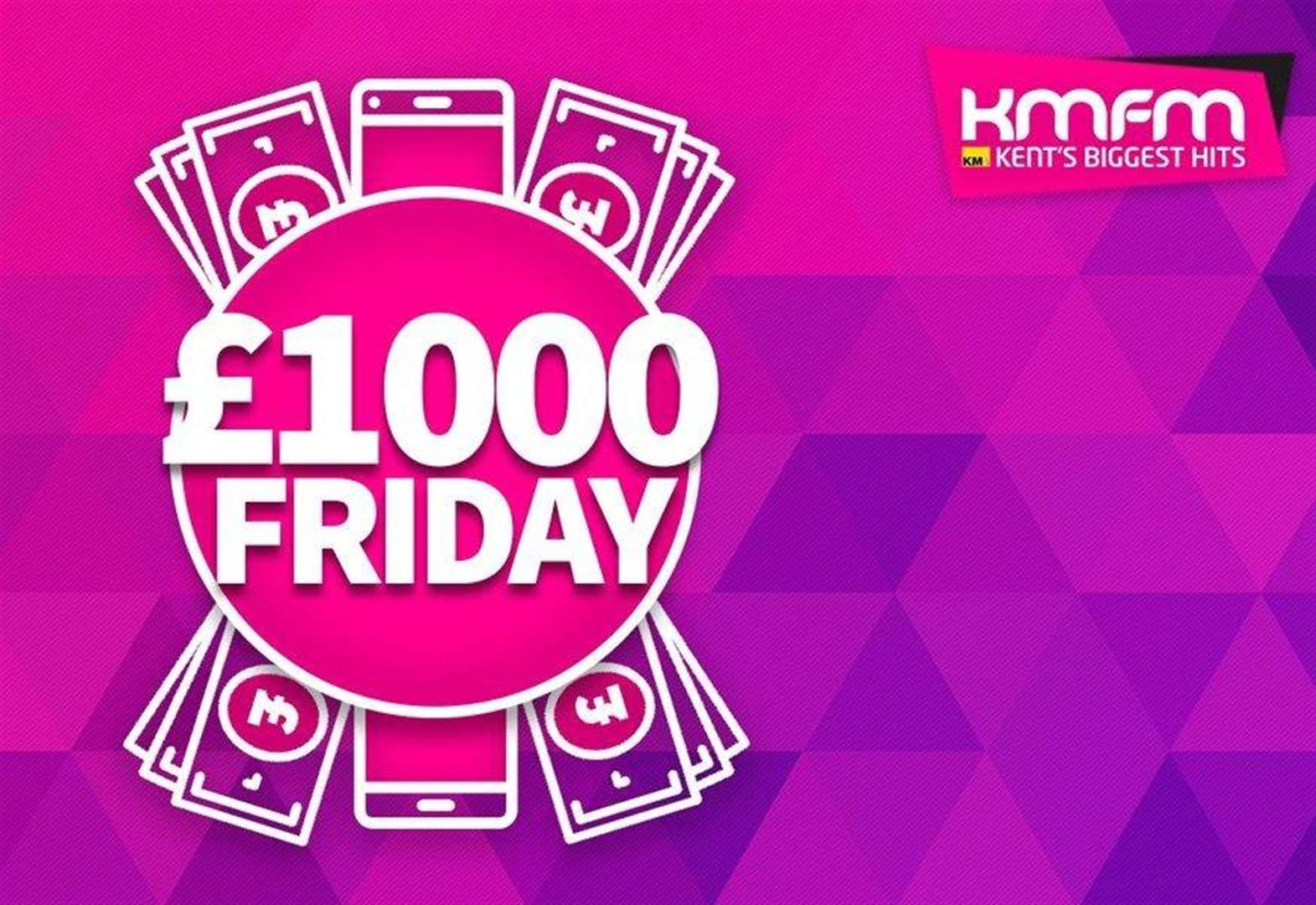 Red hot £1,000 to be won