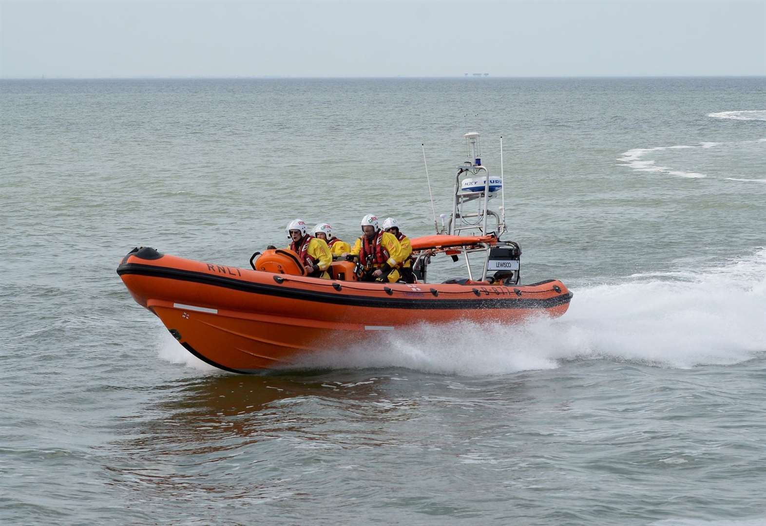 Busy weekend for lifeboat crews