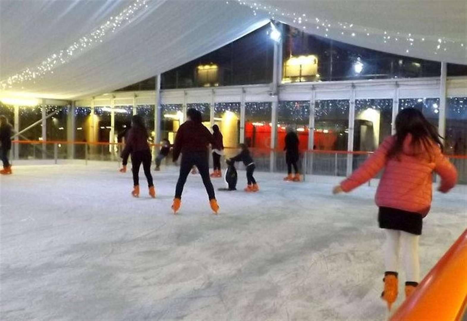 Ice rink branded 'climate disaster'