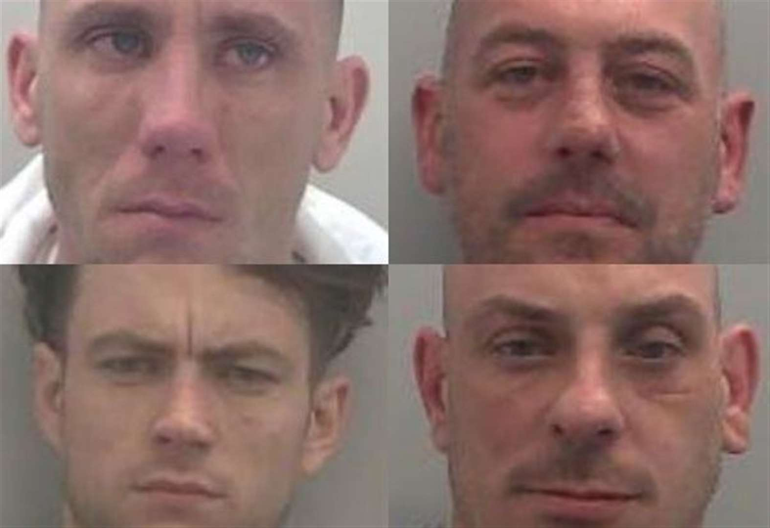 Hammer-wielding Co-op robbery gang jailed