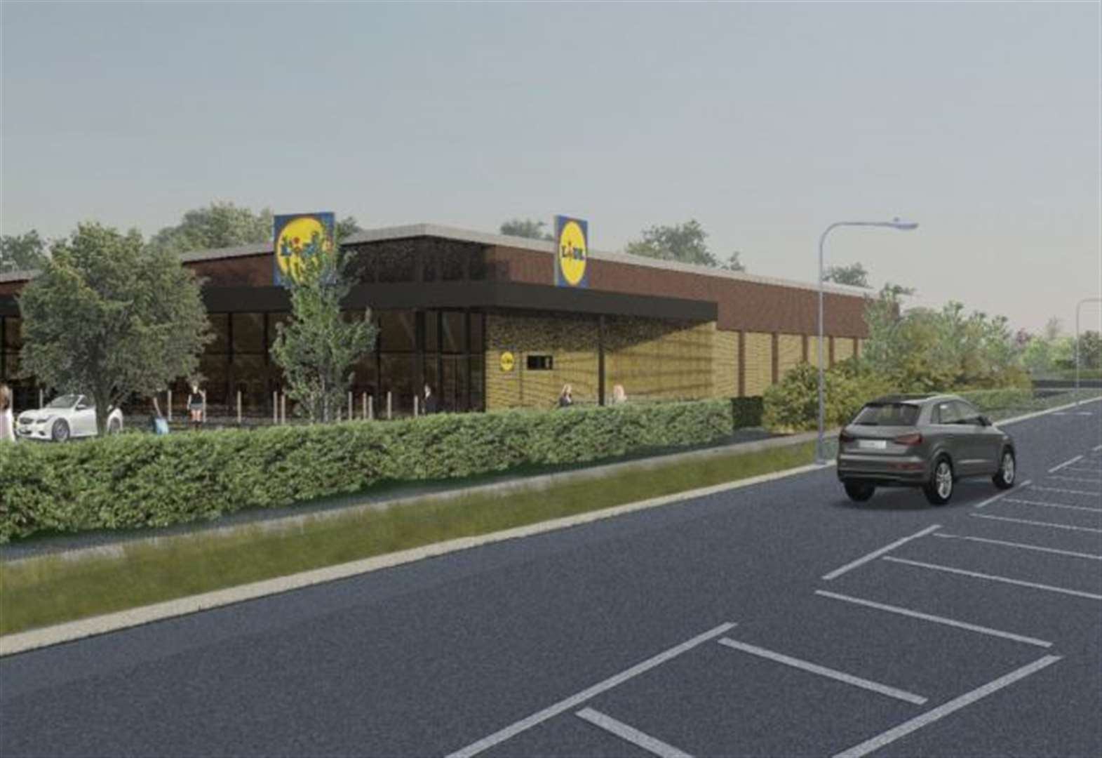 Decision day for Lidl store