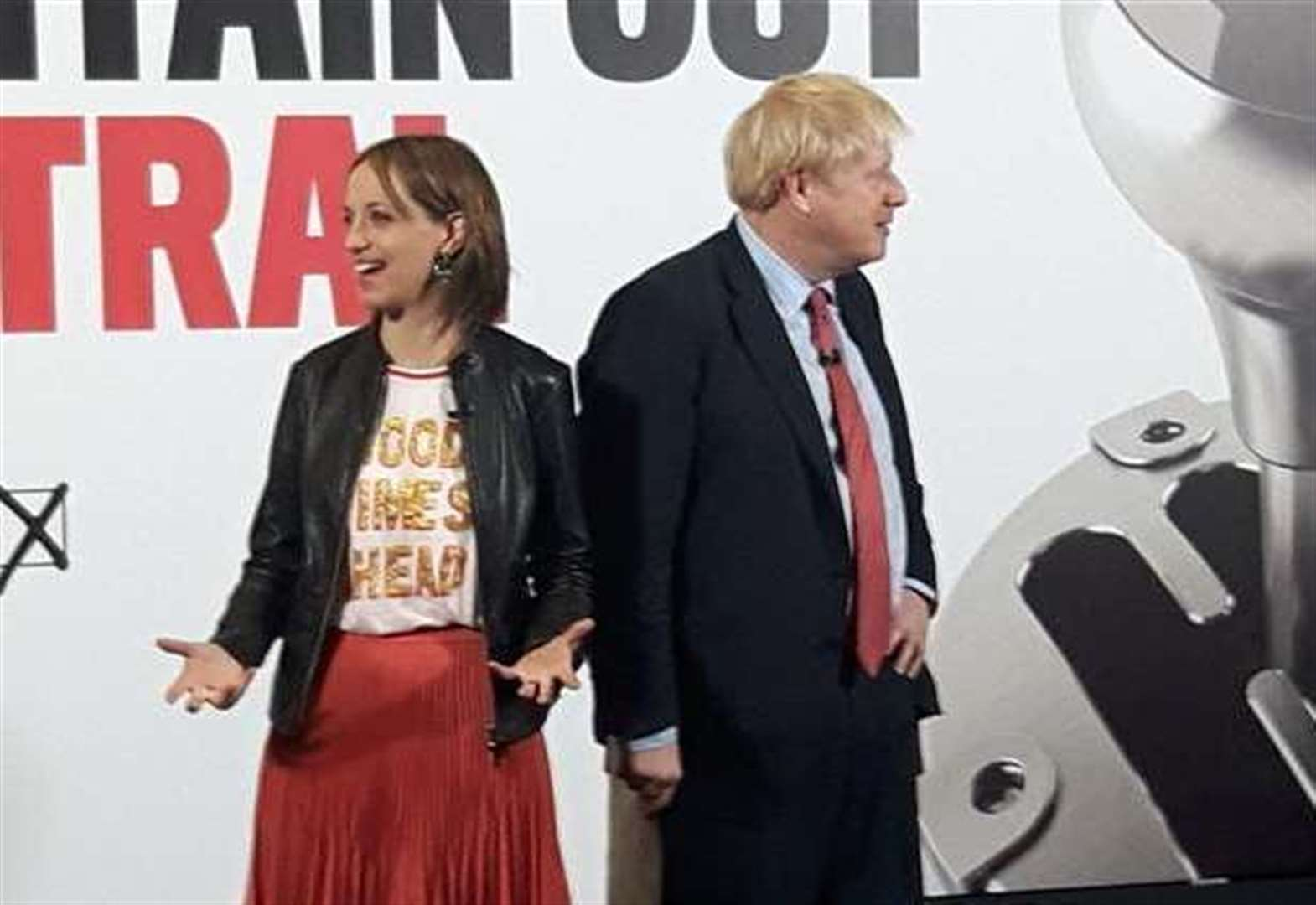 Boris Johnson on campaign trail in Kent