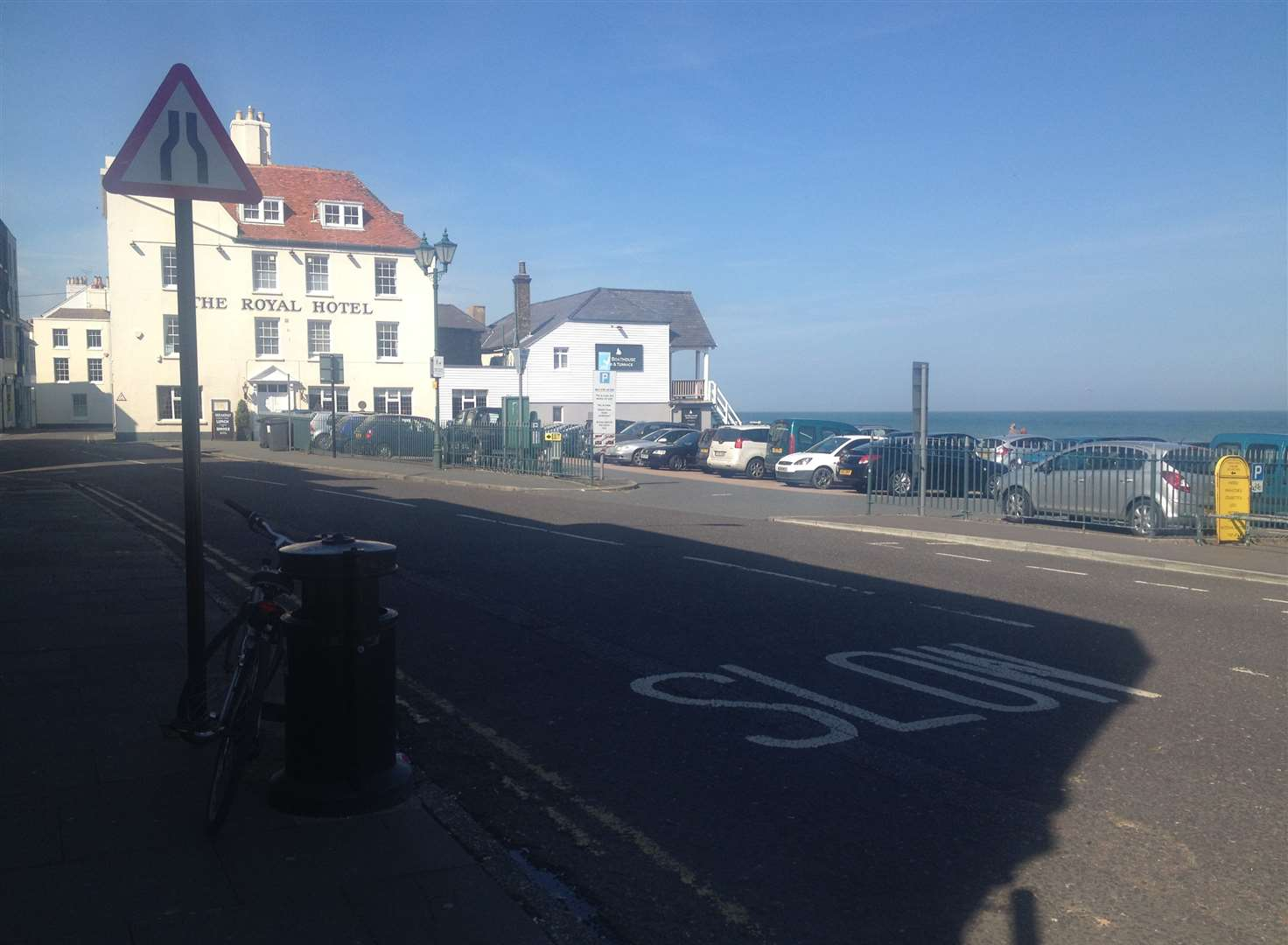 Plan for shared space on Deal seafront