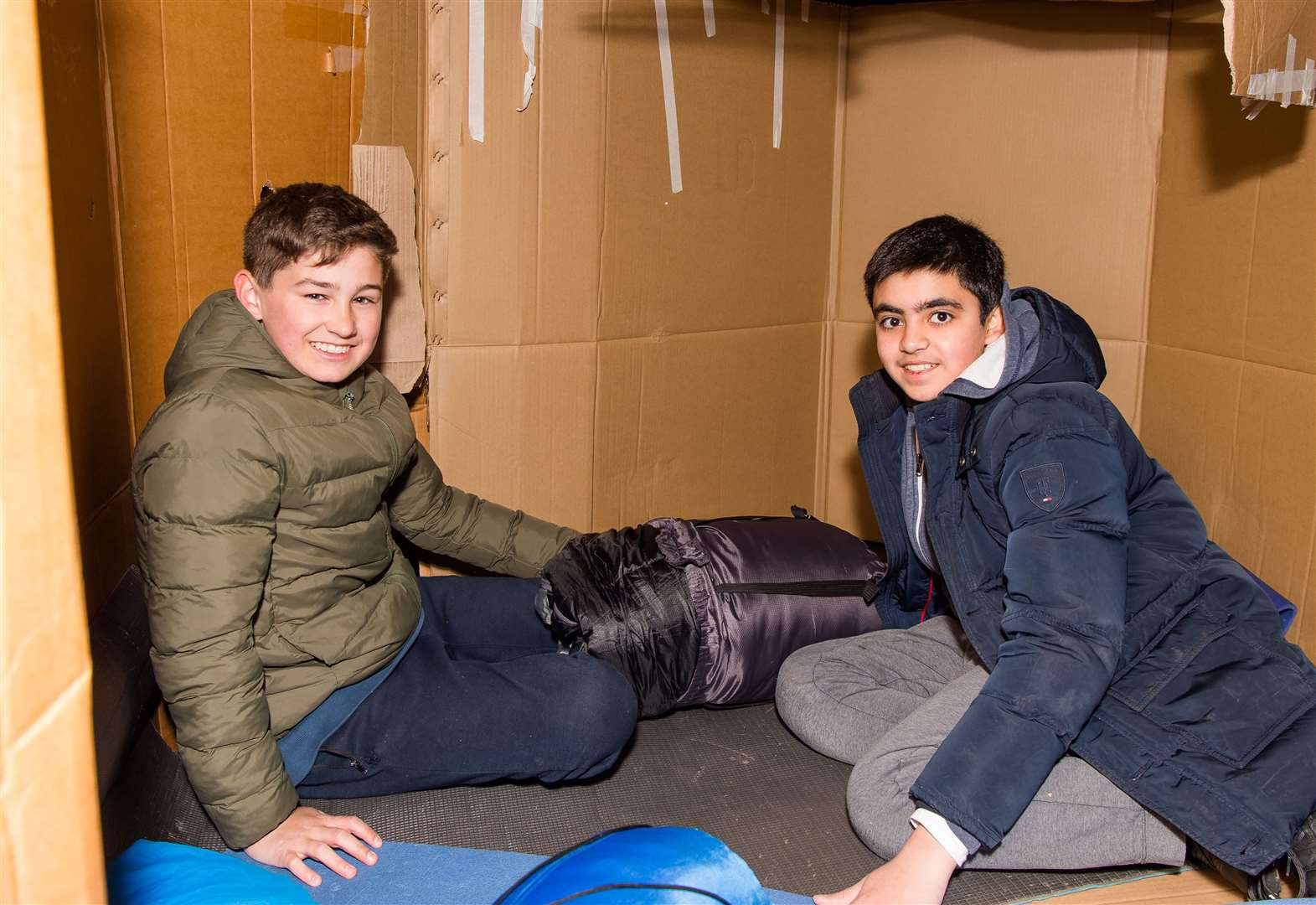 School's sleepout raises £13k for homeless