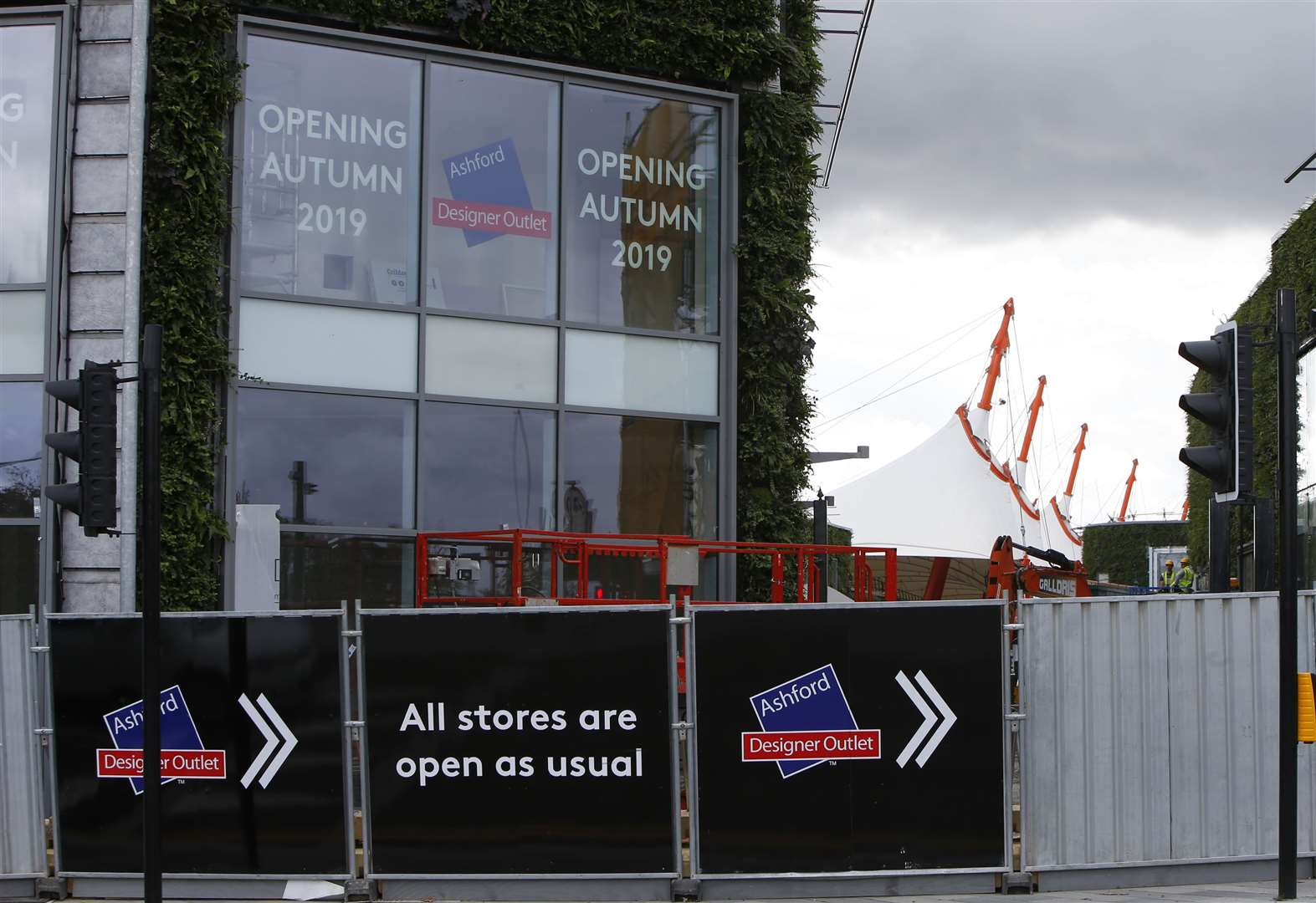 Opening date revealed for Designer Outlet extension