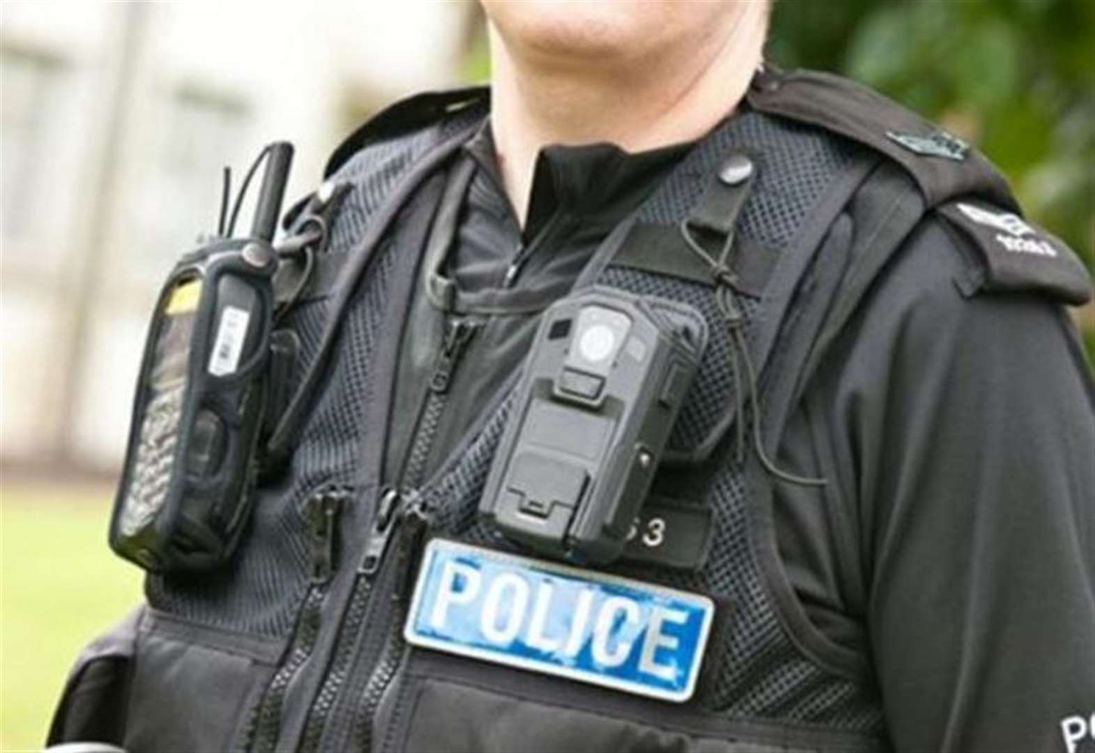 Store manager and police officer 'assaulted'