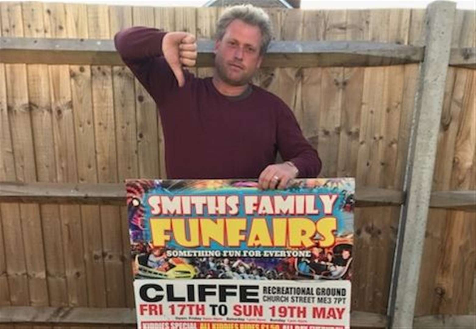 Council worker's 'racial slur' at funfair boss