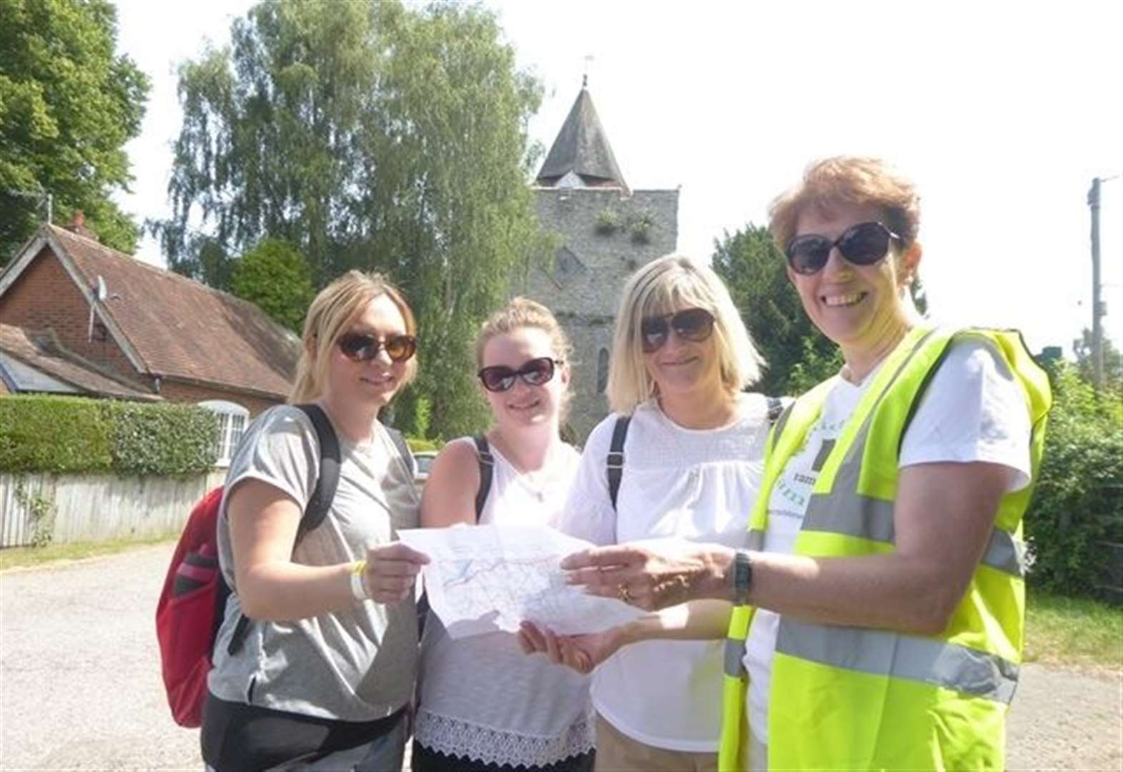 Charity walk opens window on county's rich heritage
