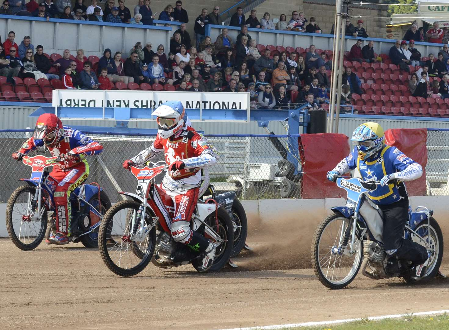 Speedway stars of the future in action