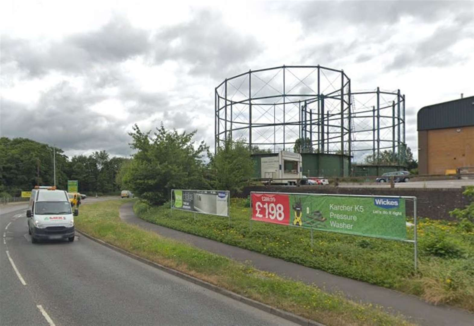 Plans for 136 new homes on gas works site