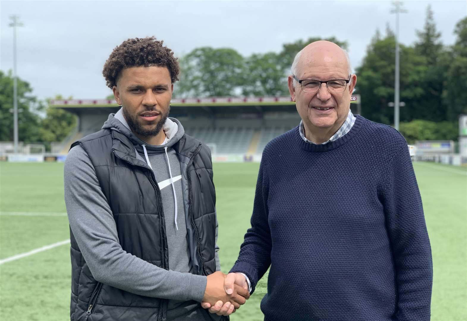 Stones land Halifax striker