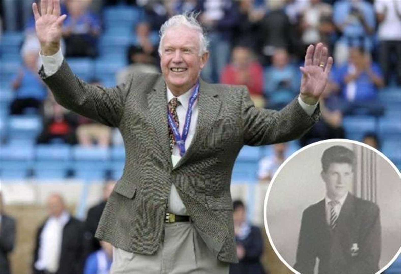 Tribute to former Gillingham player who became an inspiration to so many