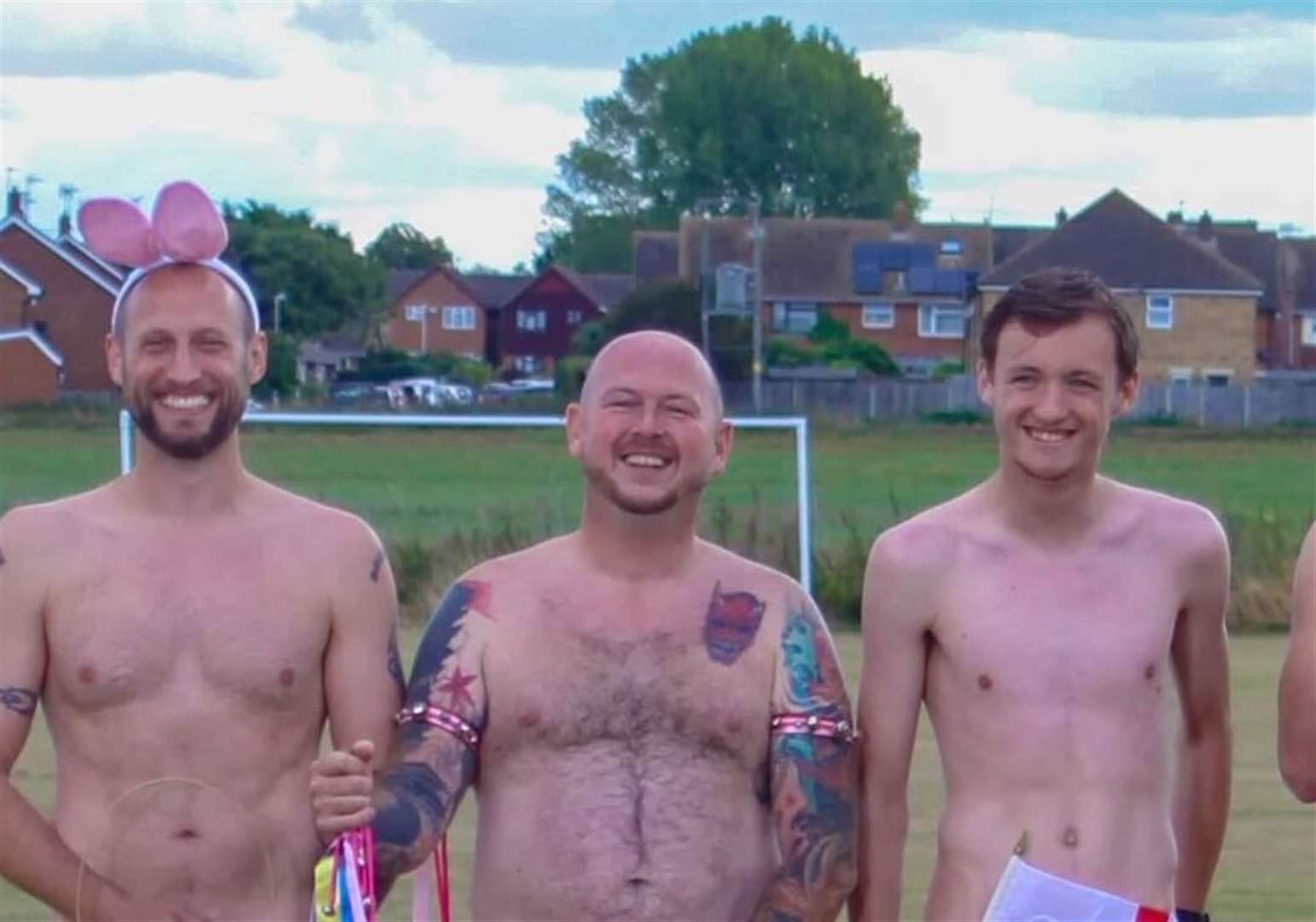 Football club strip for charity