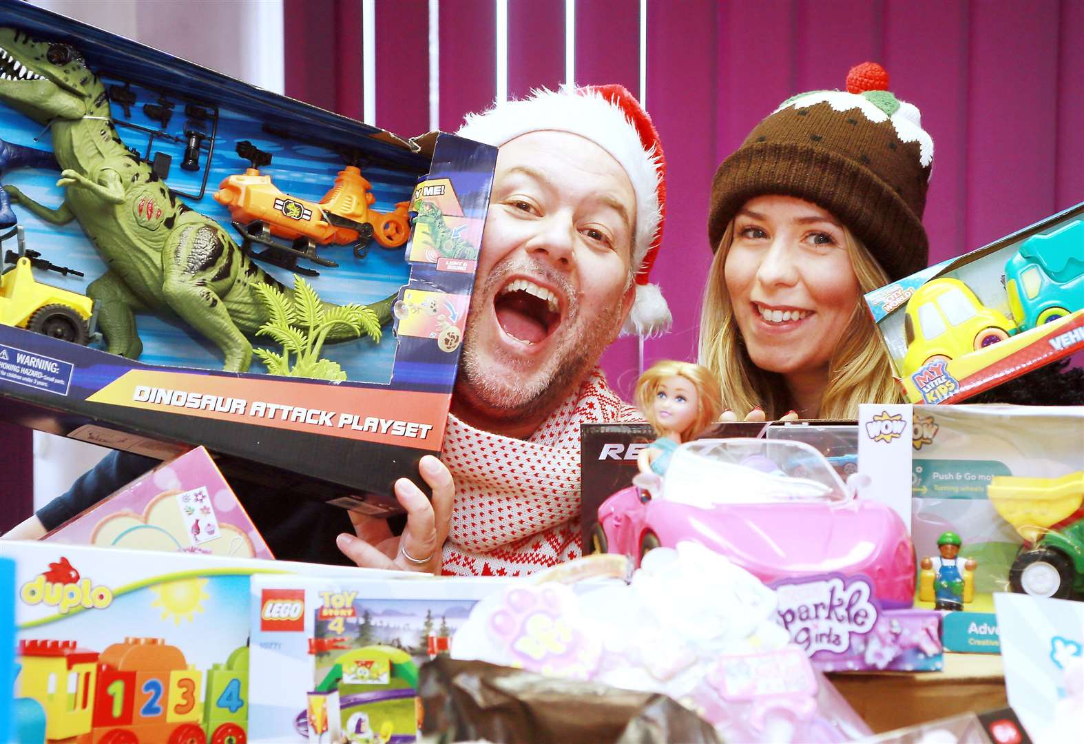 Hundreds of toys delivered to children in need this Christmas