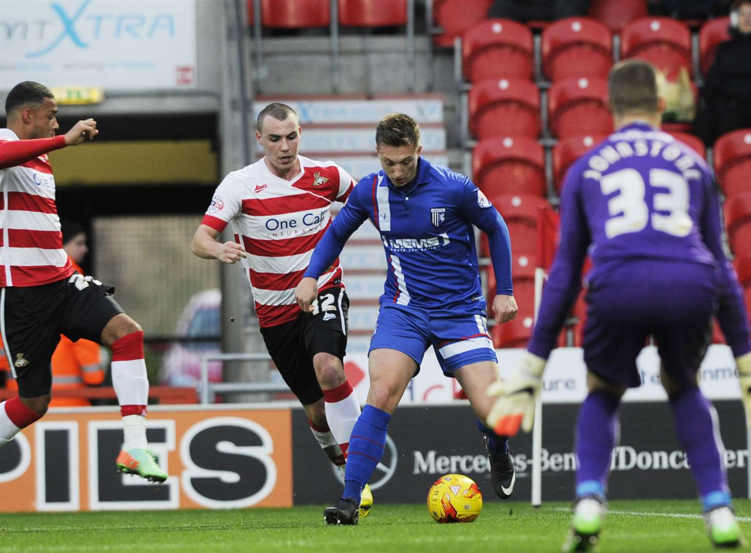 Doncaster Rovers v Gillingham - in pictures