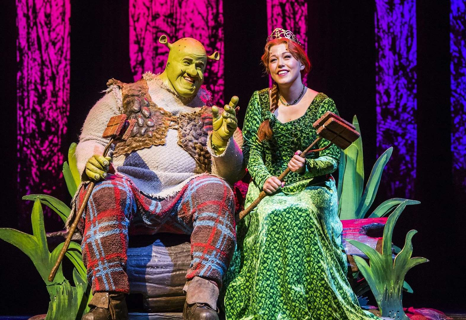 Shrek! The Musical: it's got layers