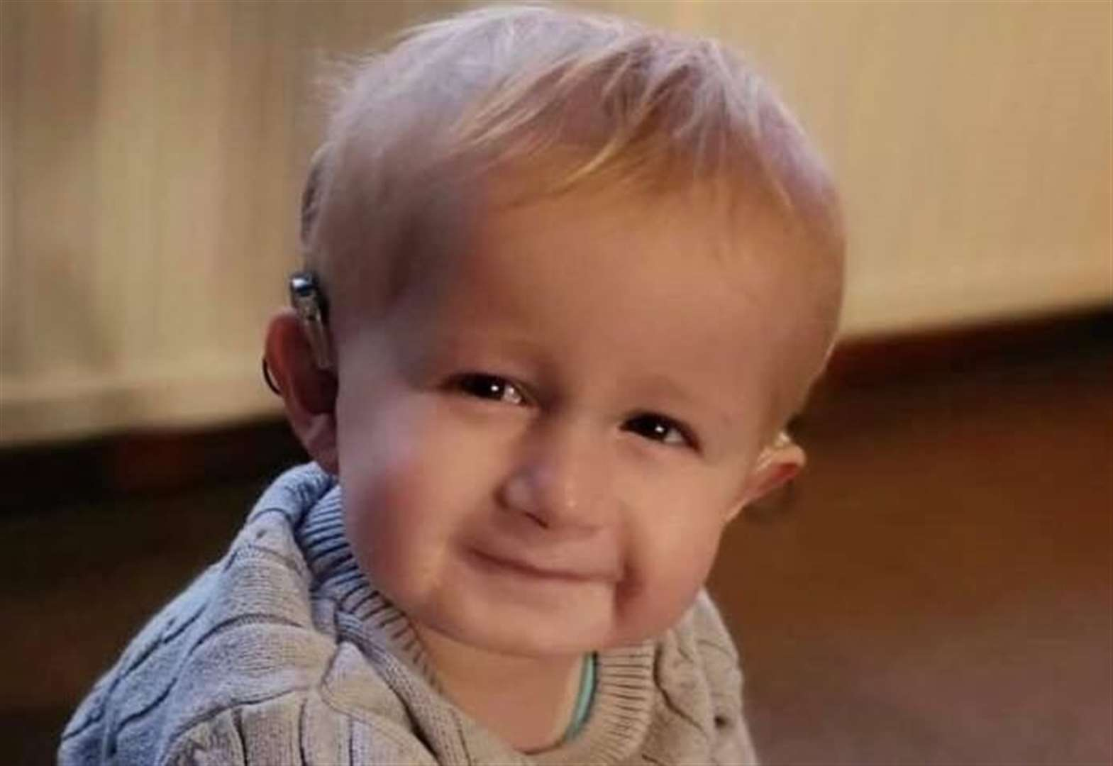 'He is our hero' says parents of toddler with rare condition