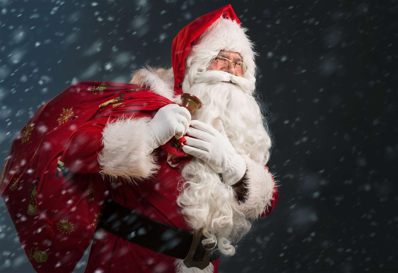 You may know him... Santa's coming to these grottos