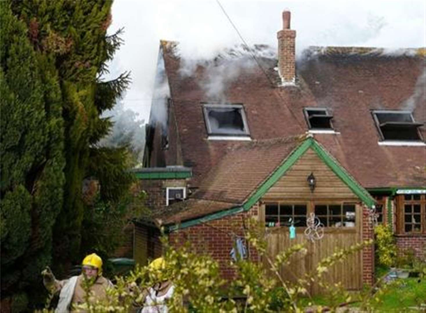 Etchinghill house fire