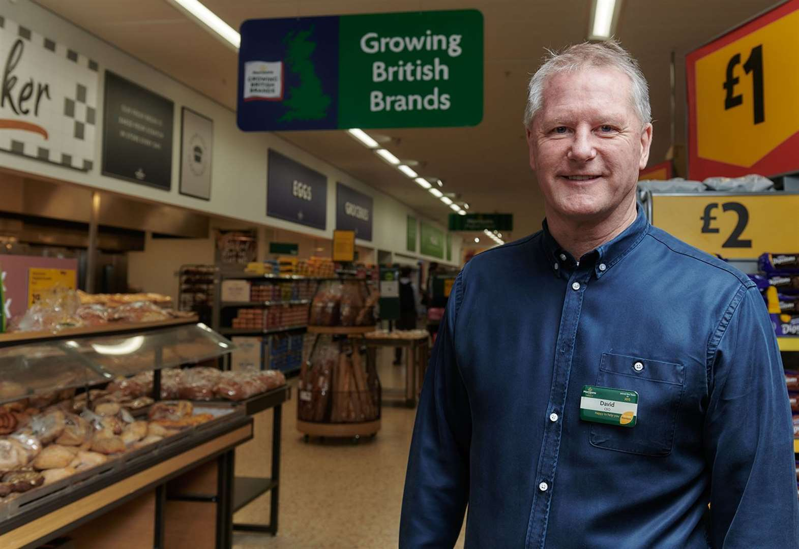 Sell your product here says supermarket