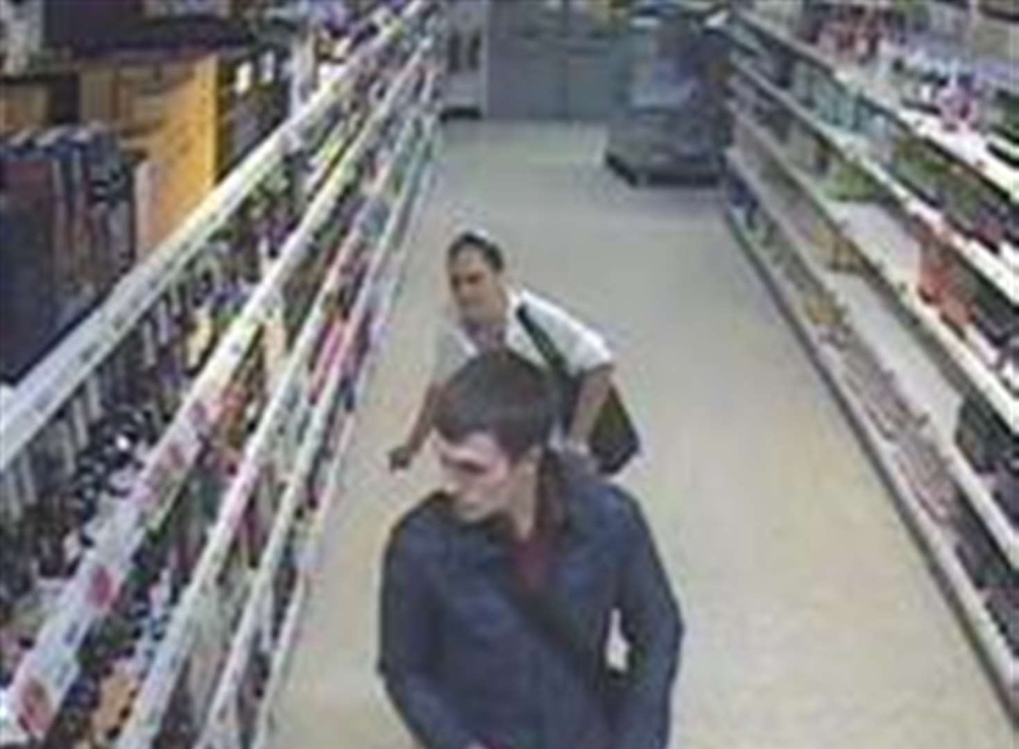 Thousands of pounds of booze swiped in supermarket raids