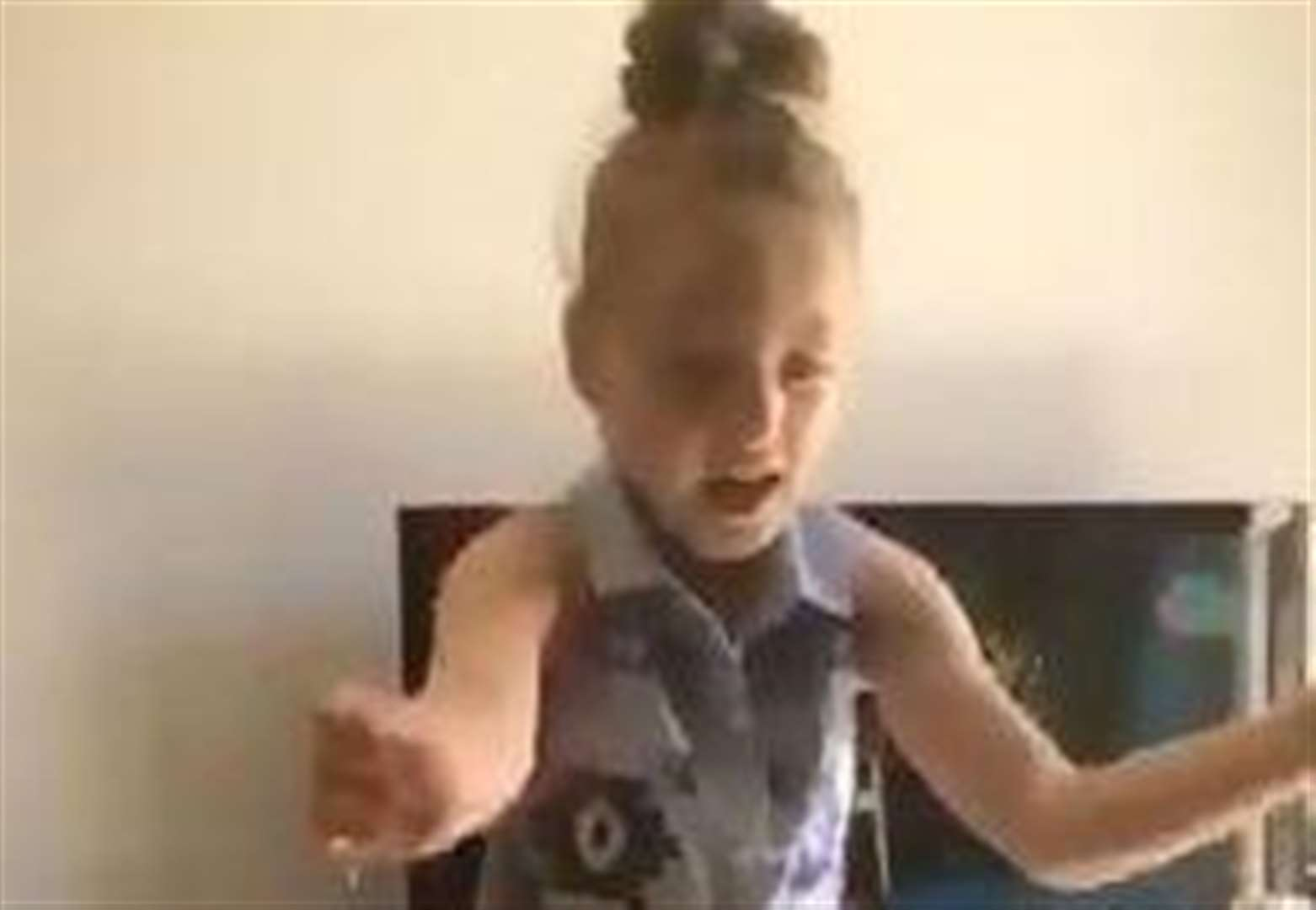 Watch: Girl, 6, dances for first time after surgery
