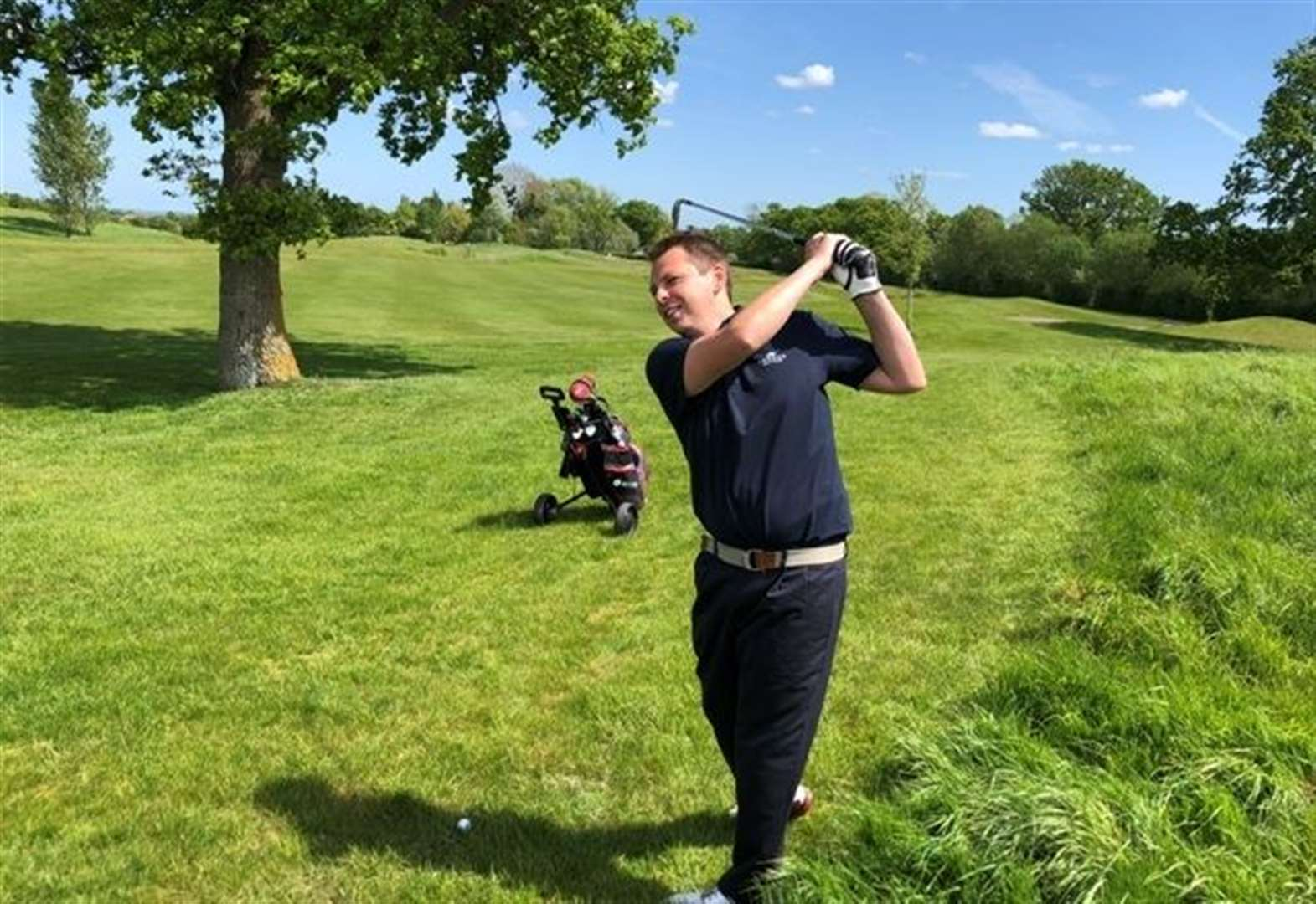 Unleash your inner Tiger at golf day