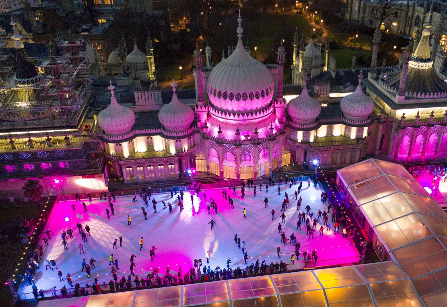 Make a day of it out on the ice this Christmas