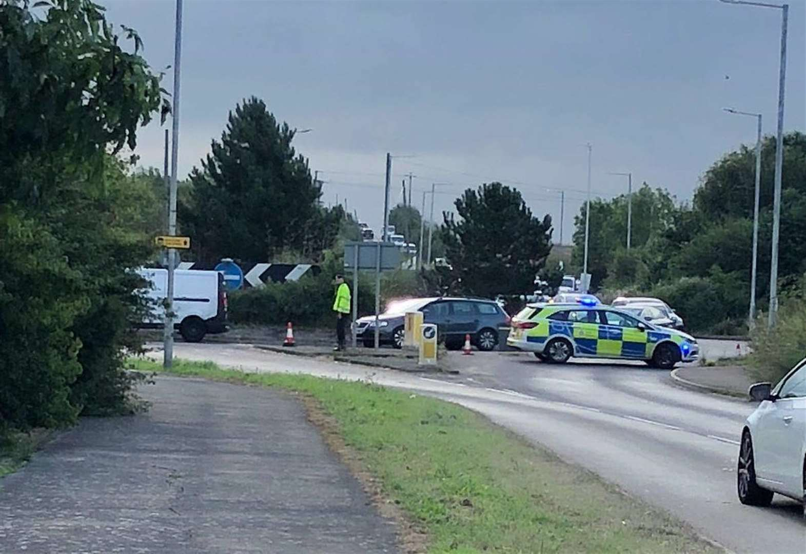 Man arrested after serious crash on main road