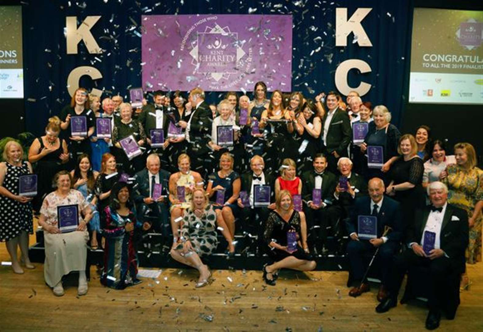 Who has been crowned the Kent Charity of the Year?