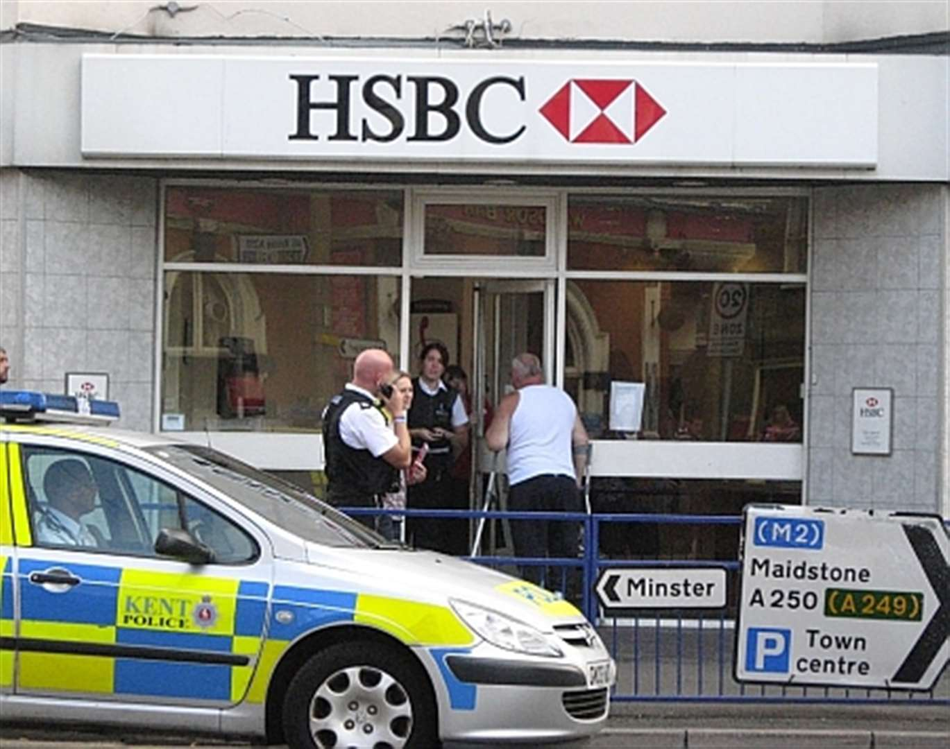 Sheerness bank robbery