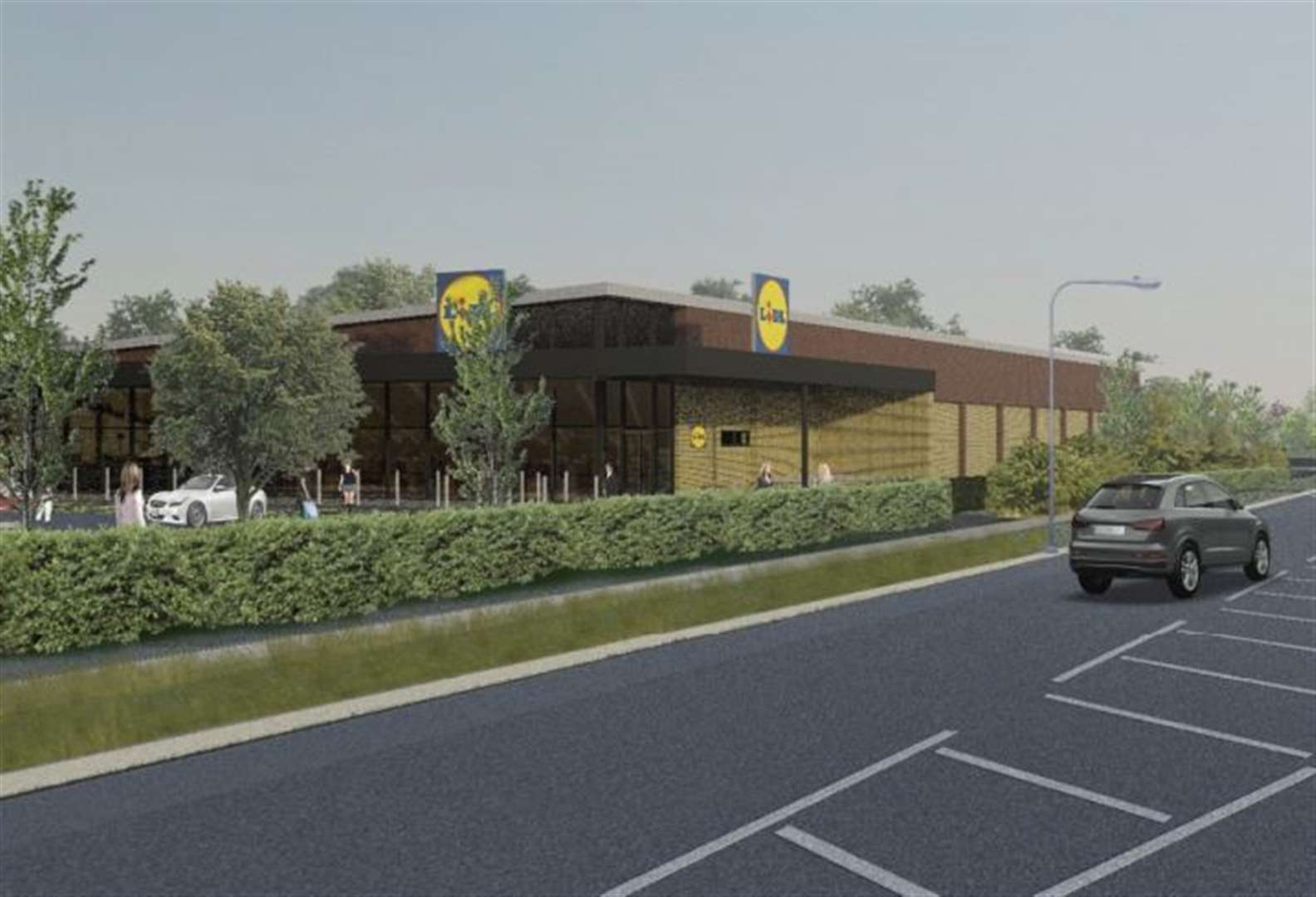 Bid for Lidl store given go-ahead