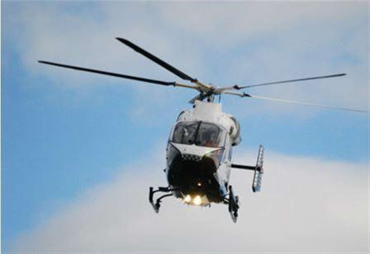 Motorcyclist airlifted to hospital after crash