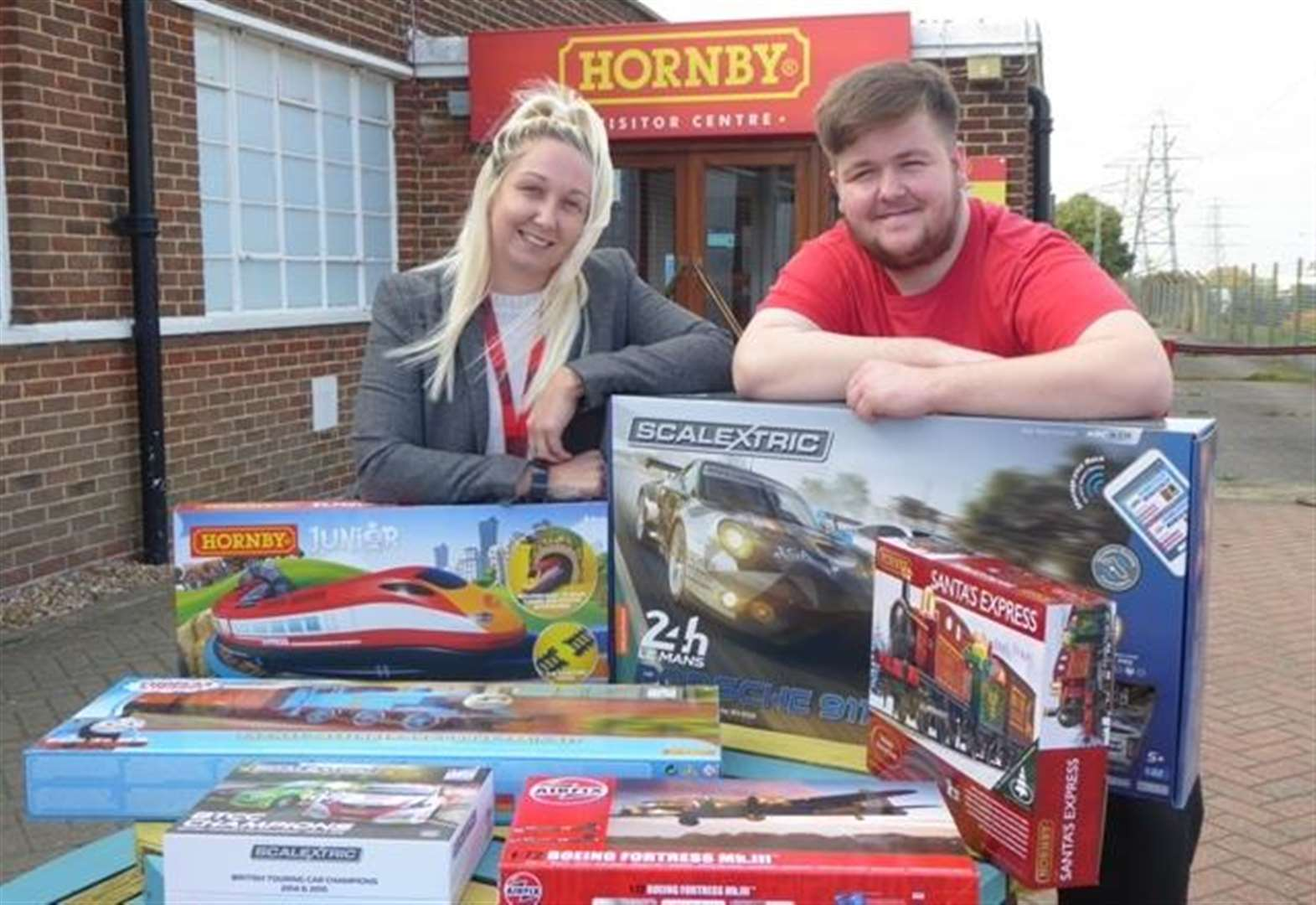 Hornby raffle prizes worth hundreds of pounds