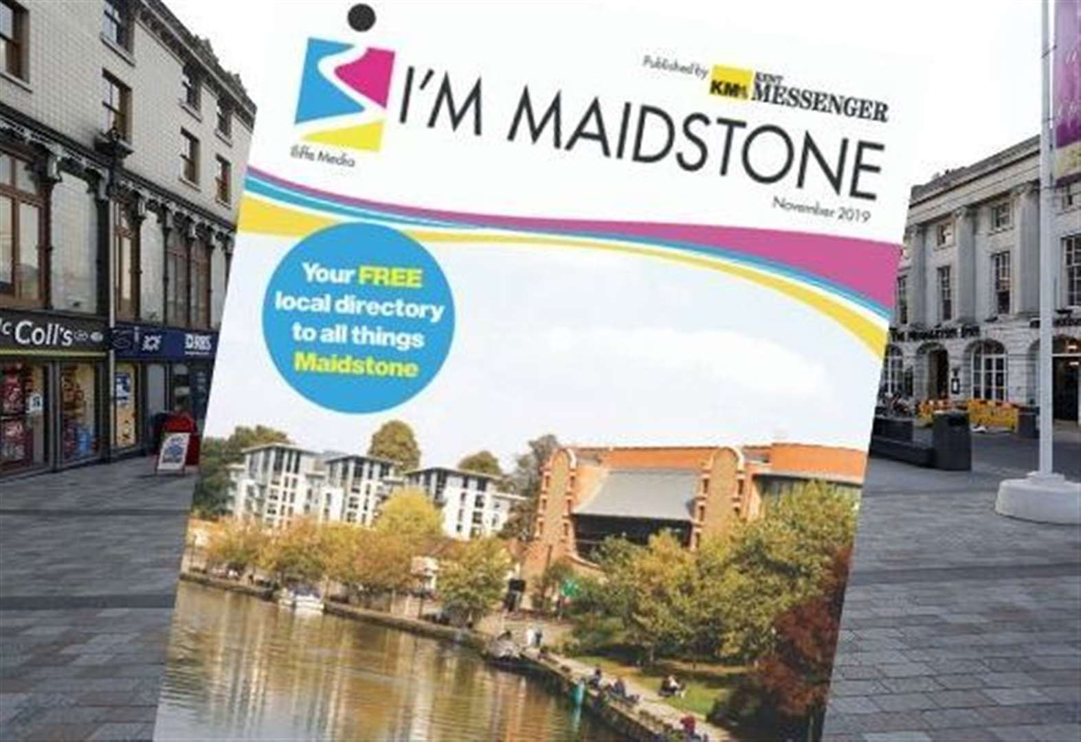 First edition of I'm Maidstone out soon