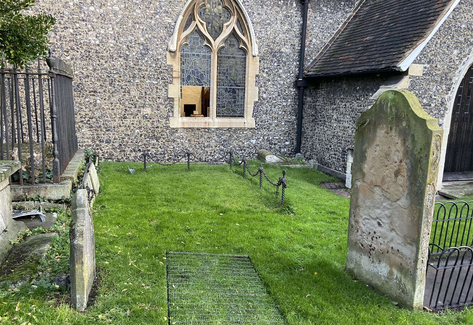 Almost £2,000 raised for vandalised church