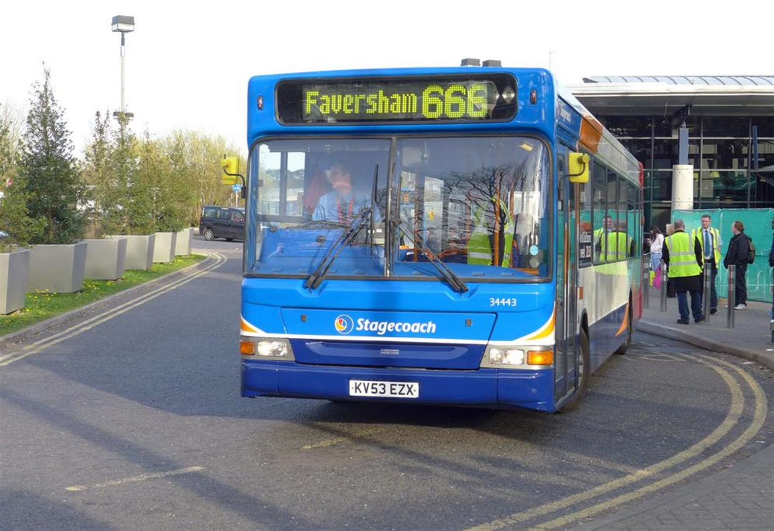 Hospital bus route saved