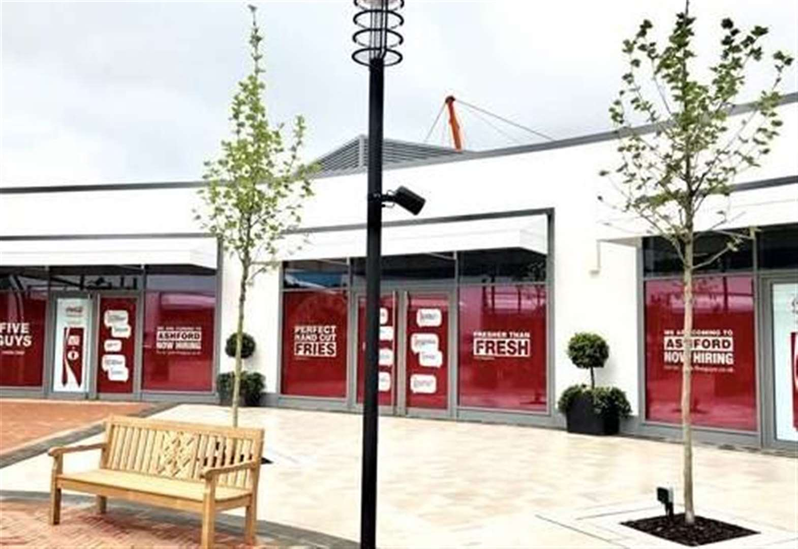 d3186aa37 Five Guys allowed to open at Ashford Designer Outlet despite ...
