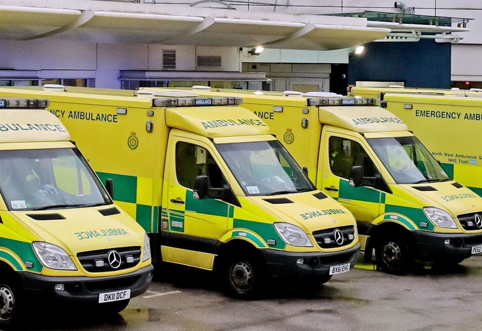 One patient every 56 seconds as 'winter crisis' looms