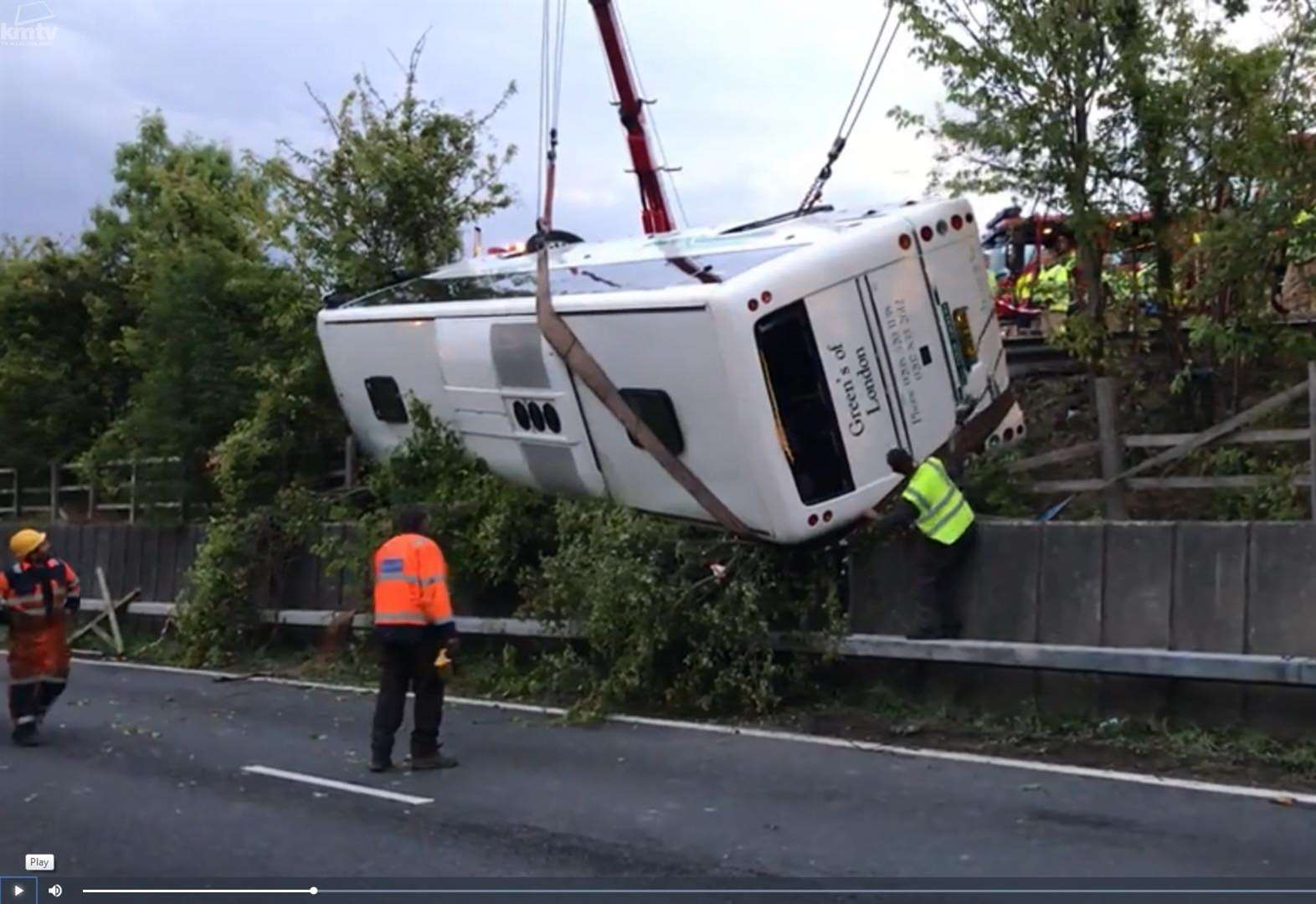 Police appeal for coach crash witnesses