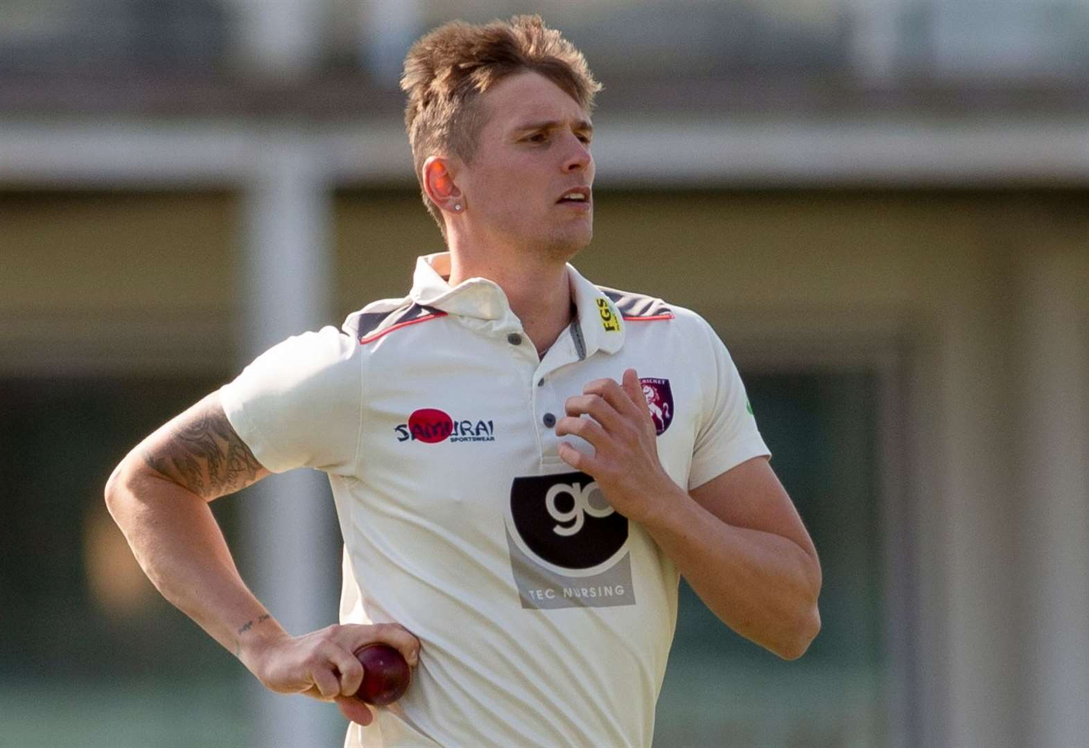 Kent beaten by Somerset