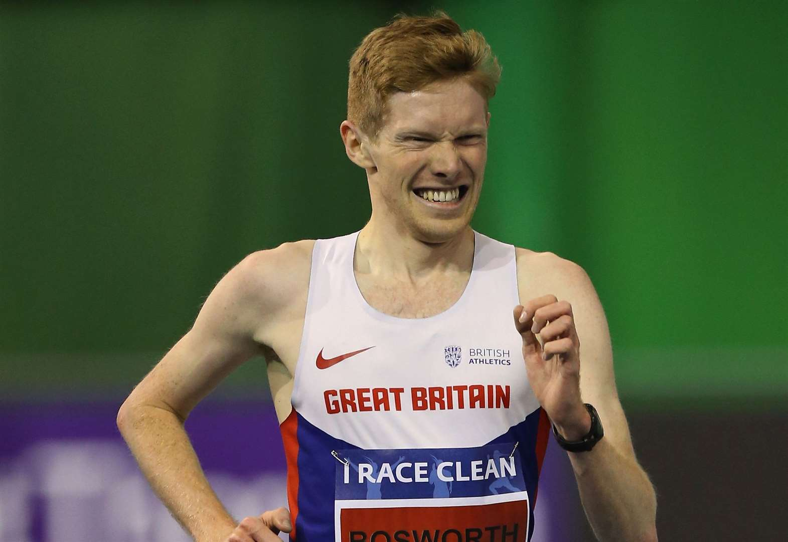Tom Bosworth claims Olympic Games spot