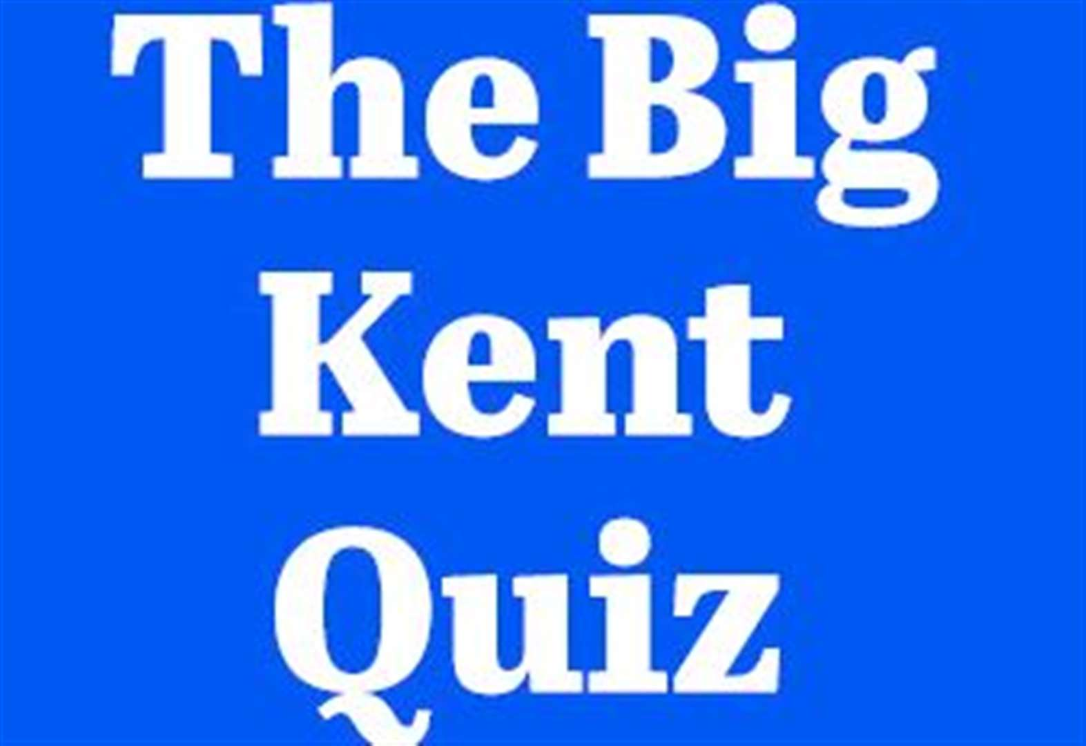 The Big Kent Quiz: the questions and answers