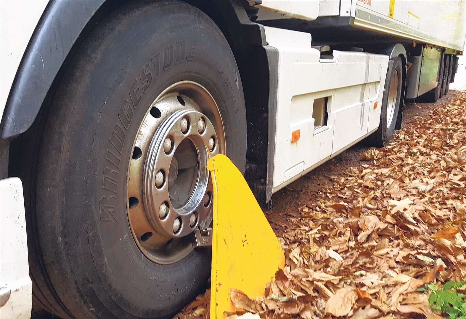 More than 1,500 lorries clamped this year