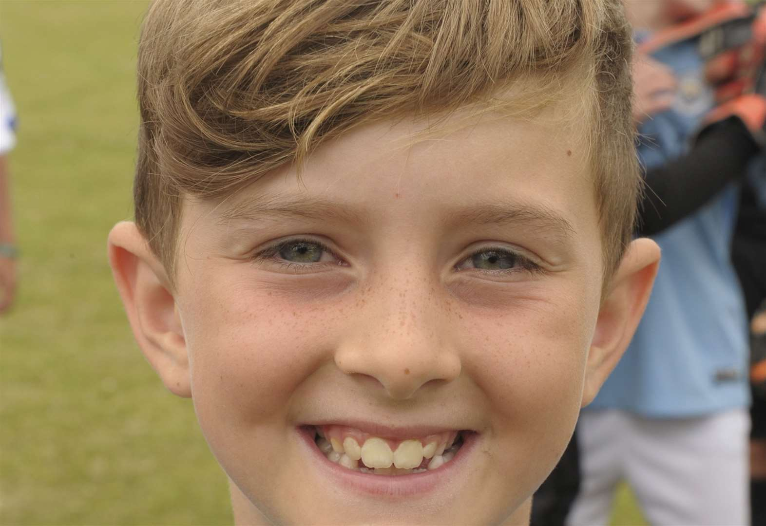 Boy raises money with charity football match