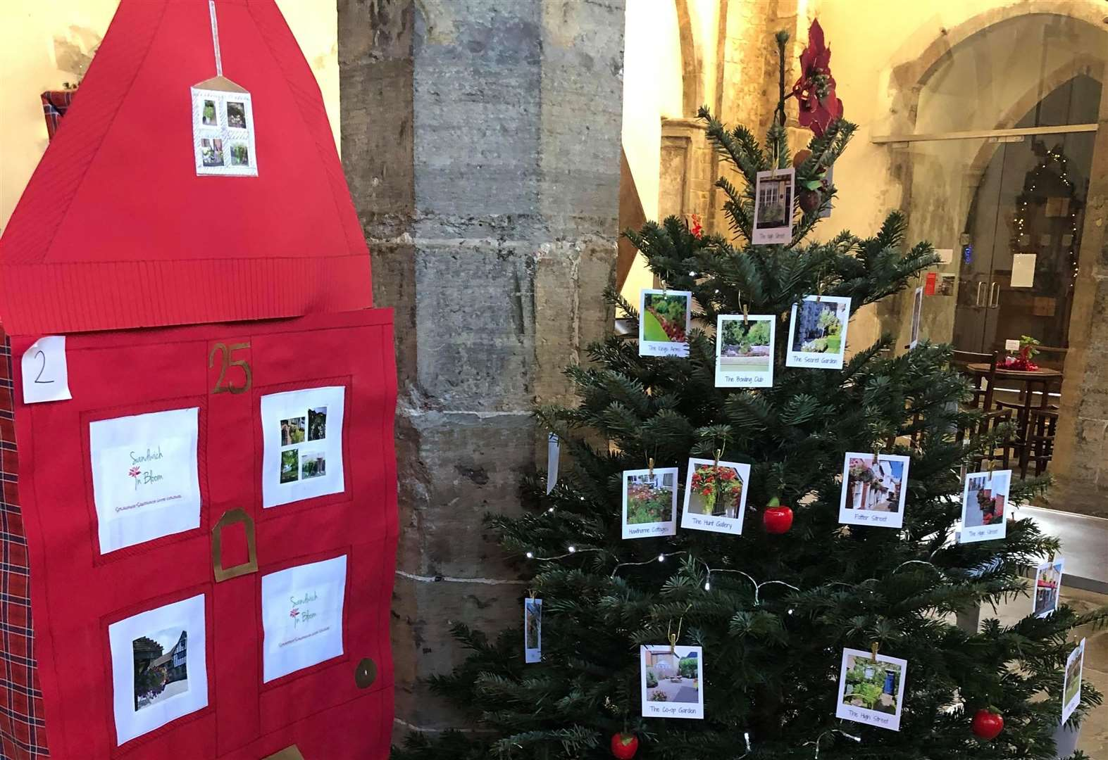 Church's Christmas trees need your vote