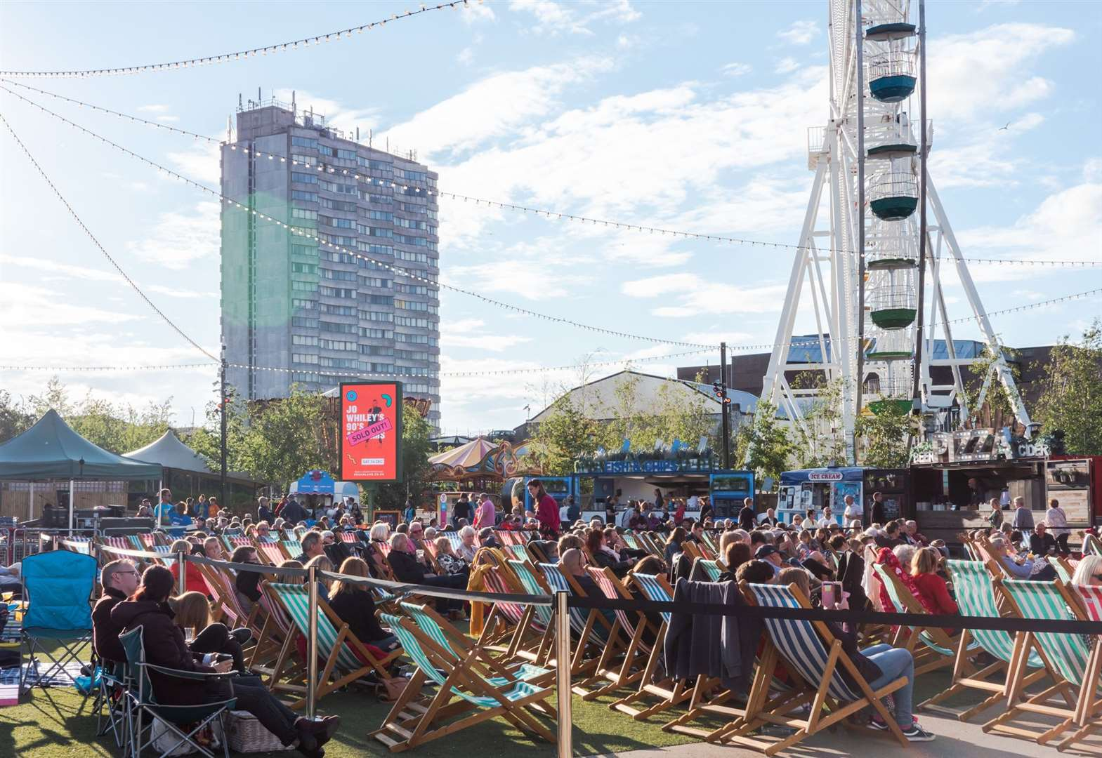 Open air cinema coming to Dreamland