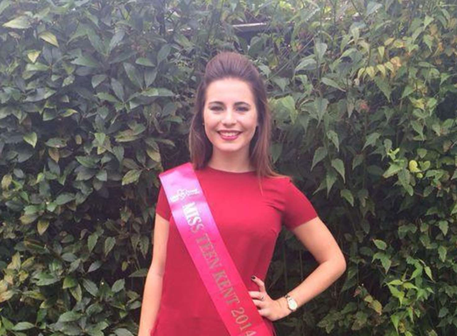 Schoolgirl in Miss Teen Great Britain final